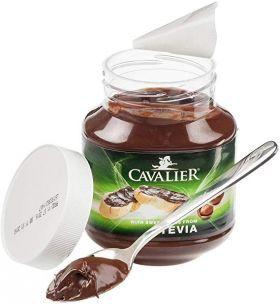 Πάστα Φουντουκιού Cavalier Stevia 380 gr