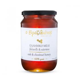 Μέλι Πλαγιές Ολύμπου Βελανίδι-Κάστανο